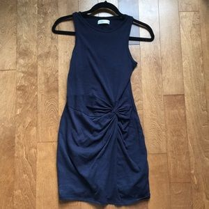 Abercrombie & Fitch Front knot dress, marine XS